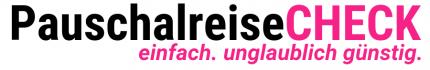 Copy of Copy of Schwarz Orange - PauschalreiseCHECK - 900 x 150 px Header Logo einfach. unglaublich. günstig.